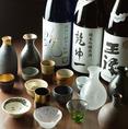 日本酒や焼酎なども豊富にご用意