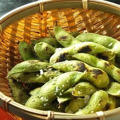 料理メニュー写真焼枝豆