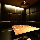 BOXソファテーブル席。ご友人とのディナーやデート・飲み会にどうぞご利用下さい。