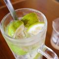 料理メニュー写真<徳島>丸ごと酢橘サワー