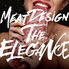 MEAT DESIGN THE ELEGANCEのロゴ