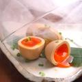 料理メニュー写真味付け煮玉子スモーク