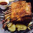 魂の料理:お肉、お魚、お野菜と食材にこだわり、活かし、シェフが腕をふるっております。