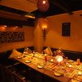 10名様~20名様完全個室でパーティ!!新宿での歓送迎会、個室宴会、女子会、接待、合コン、誕生日、記念日等の各種ご宴会に最適な寛ぎの個室席を是非一度お試し下さいませ。