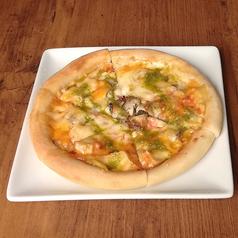 貝たっぷりピザ