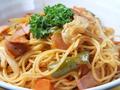 料理メニュー写真ナポリタン・カルボナーラ・ペペロンチーノ・たらこスパゲッティ