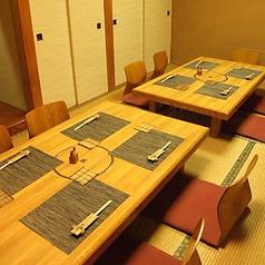 個室の座敷席!最大16名まで利用可能な座敷です。様々な宴会シーンにご対応☆