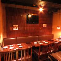 渋谷で焼鳥を食べるなら、落ち着いた雰囲気の当店へ。