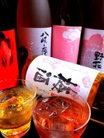 梅酒・日本酒・焼酎が豊富!
