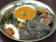 伝統的なネパール料理