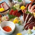 大阪中央市場から直送の鮮魚を使った料理も自慢!お刺身はもちろんのこと、アジフライやなめろうなどお魚料理が豊富です!
