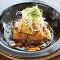 料理メニュー写真【和歌山】十六豆腐の揚げ出し木ノ子あんかけ