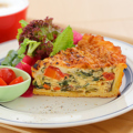 料理メニュー写真★[数量限定]特製たっぷり野菜キッシュランチ