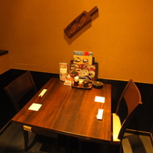 カップルにもオススメなおこもり感たっぷりなテーブル個室