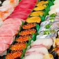 料理メニュー写真豪華!寿司盛り合わせ