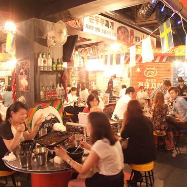 韓国屋台 赤豚屋 住吉店の雰囲気1