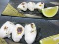 料理メニュー写真白子焼き(11月中旬からです!)