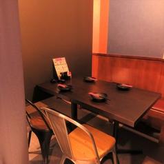 1Fは全席完全個室!テーブル席なので履き物を脱がず、ゆったりお座り頂けます。
