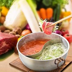 料理メニュー写真牛&豚しゃぶ食べ放題(ロース・バラ)お肉・新鮮野菜・カレー・ご飯・麺