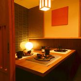 接待や会食等に最適なプライベート個室。扉付きの完全個室となっておりますので周りを気にせずゆったりとした時間をお過ごし頂けます。