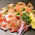 料理メニュー写真海の幸のカルパッチョ