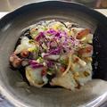 料理メニュー写真生タコのカルパッチョ