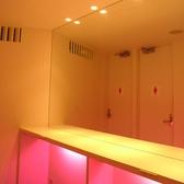 3階パーティースペースご利用女性には嬉しい専用パウダールーム。 同時に8名まで使用可!