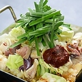 料理メニュー写真●国産ホルモンちりとり鍋(2~4人前)