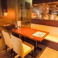最大50名まで対応可能なテーブル個室