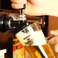 ビールサーバー完備!!