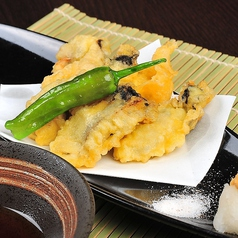 料理メニュー写真牡蠣の天婦羅