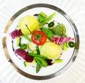 料理メニュー写真サーモンのムースのシューファルシ