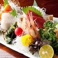 料理メニュー写真本日の鮮魚五点盛り