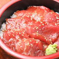 料理メニュー写真生本鮪づけ鉄火丼
