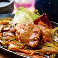 料理メニュー写真マグロ串焼き