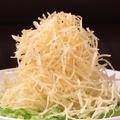 料理メニュー写真土豆の千切りパリパリ揚げ