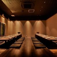 ご宴会に最適な大個室を複数ご用意!
