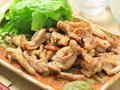料理メニュー写真鶏せせり焼き 柚子胡椒風味