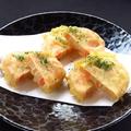 料理メニュー写真明太子とレンコンの天ぷら