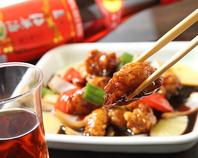 上海料理定番 黒酢豚