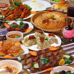 レストラン ザクロのコース写真