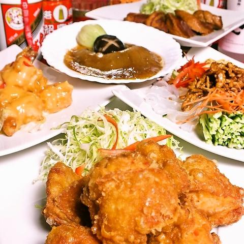 食べ放題が人気!本格的な中国料理を味わえる『東北冷麺王』は翌4時迄営業中!