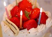 誕生日のお客様にはケーキプレゼント♪