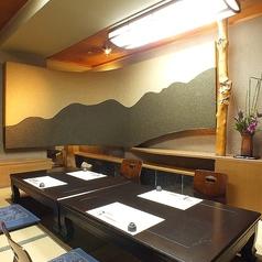 京の間 お庭の奥の奥の個室です。接待・お食事会などでご利用ください。