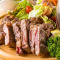 料理メニュー写真国産牛モモ肉のタリアータ