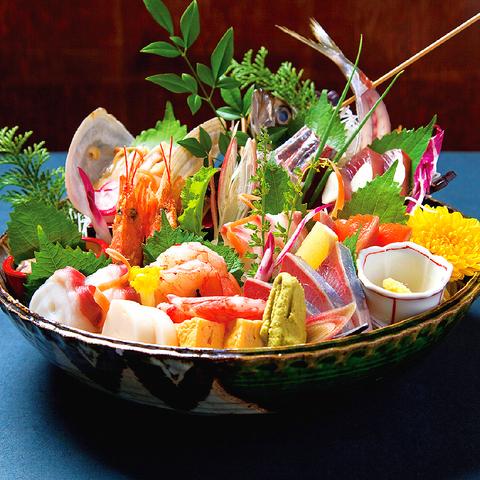 南越谷で刺身の旨いはココ!生け簀あり♪日本全国より旬の魚を直送するから新鮮!