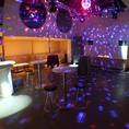 3階パーティースペースでは四国随一の音響&照明で披露パーティーや懇親会が楽しめます! 着席で最大100名様までのパーティーを開催可能!
