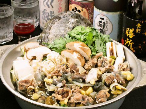 ★スタミナすっぽん鍋コース★4730円(税込)※前日までに要予約