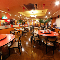 【3F】会食やちょっとフォーマルな宴会に人気の円卓