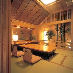 4名様までの個室は、ご接待や記念日にも最適な和の空間。